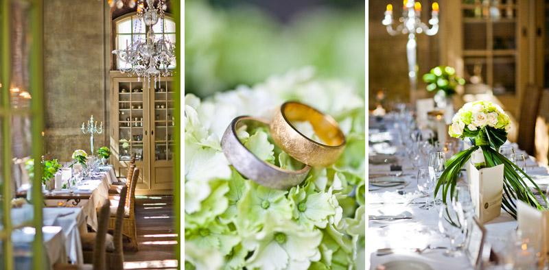 Hochzeitsfotograf Villa Sorgenfrei | Dekoration