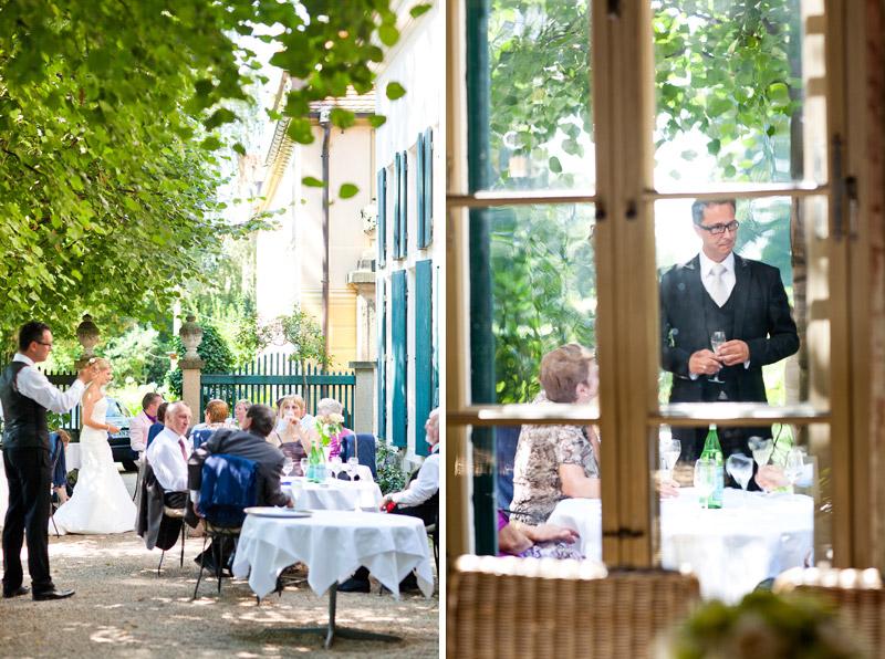 Hochzeitsempfang Villa Sorgenfrei Radebeul